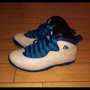 Air Jordan retro 10 , Carolina blue , 9.5
